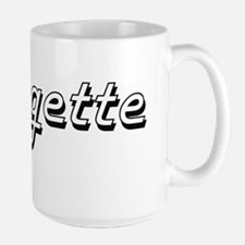 Ringette Classic Retro Design Mugs