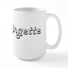 Ringette Classic Retro Design Mugs