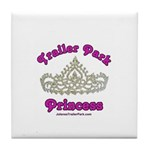 Trailer Park Princess Lace Tile Coaster