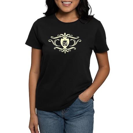 Ganesh Crest. Women's Dark T-Shirt
