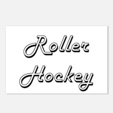 Roller Hockey Classic Ret Postcards (Package of 8)
