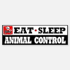 Animal Control Bumper Bumper Sticker
