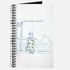 Cute Apple computer Journal