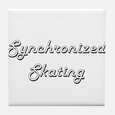 Synchronized Skating Classic Retro De Tile Coaster