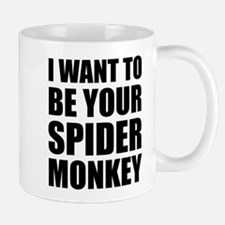 Your Spider Monkey II Mugs