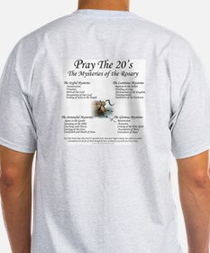Our Lady of the Rosary Ash Grey T-Shirt
