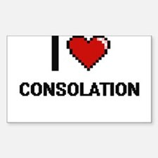 I love Consolation Digitial Design Decal