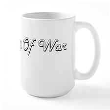 Tug Of War Classic Retro Design Mugs
