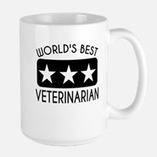 Worlds Best Veterinarian Mugs