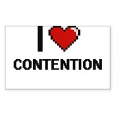 I Love Contention Digitial Design Decal