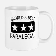 Worlds Best Paralegal Mugs