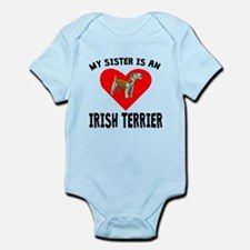 My Sister Is An Irish Terrier Body Suit
