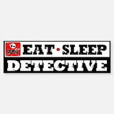 Dectective Bumper Bumper Sticker