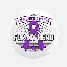 Sarcoidosis For My Hero Button