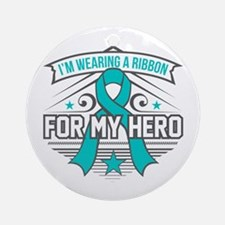 Scleroderma For My Hero Ornament (Round)