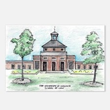 UVA Law Caplin Pavilion f Postcards (Package of 8)