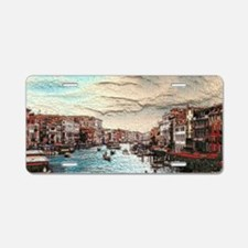Venice Aluminum License Plate