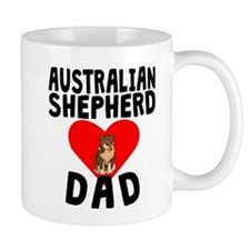 Australian Shepherd Dad Mugs