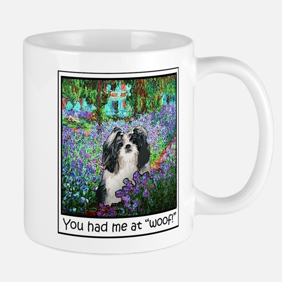Shih Tzu Fine Art Eve Large Mugs