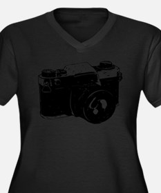 Camera Plus Size T-Shirt