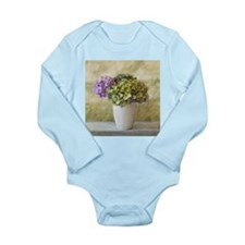 Potted Hydrangeas Body Suit