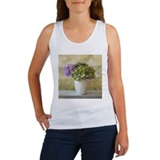 Potted Hydrangeas Tank Top