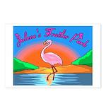 JolenesTrailerPark Sunset Log Postcards (Package o