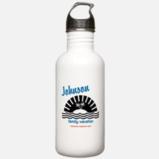 Tropical Family Vacati Water Bottle
