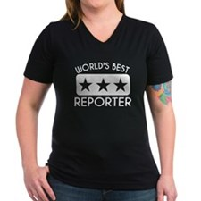 Worlds Best Reporter T-Shirt