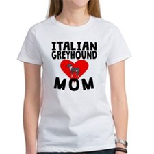 Italian Greyhound Mom T-Shirt