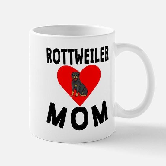 Rottweiler Mom Mugs