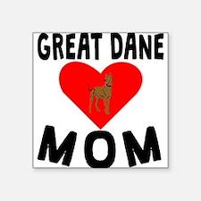 Great Dane Mom Sticker