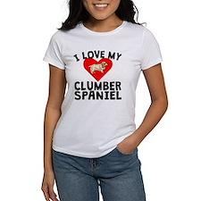 I Love My Clumber Spaniel T-Shirt