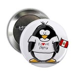 Peru Penguin Button