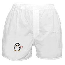 Peru Penguin Boxer Shorts