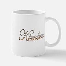 Gold Kimber Mug