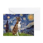 Starry / Boxer Greeting Card