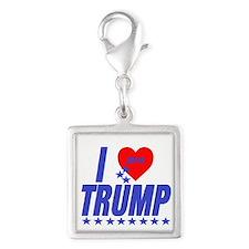 Donald Trump Square Charm Charms