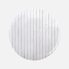 shabby chic white pin stripes Button