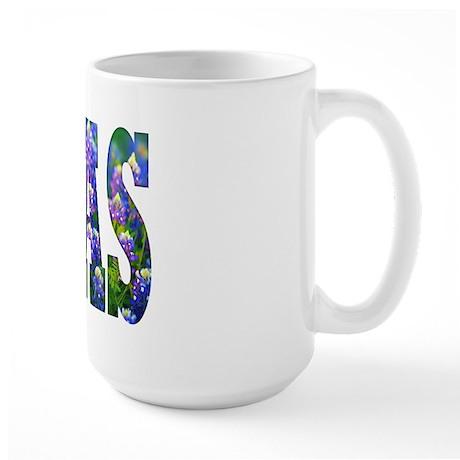 Texas Bluebonnets - Large Mug