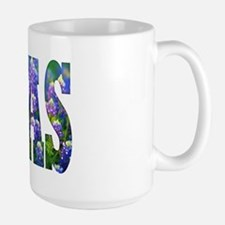 Texas Bluebonnets - Large Mug