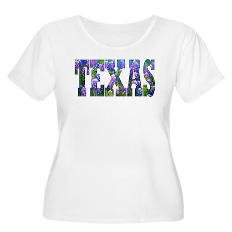 Texas Bluebonnets - Women's Plus Size Scoop Neck