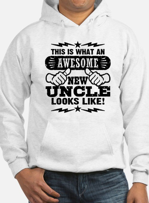 Awesome New Uncle Hoodie