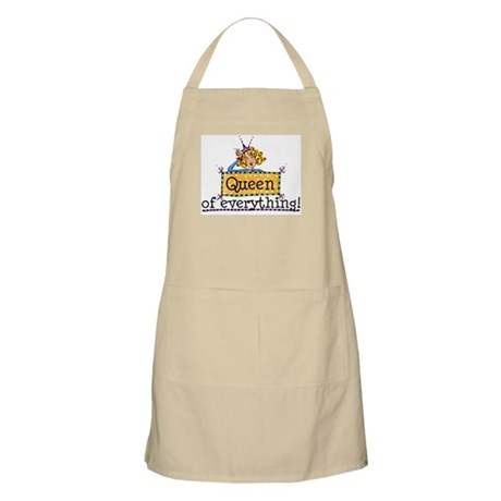 Queen Of Everything BBQ Apron