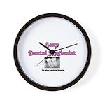 Sexy Dental Hygienist Wall Clock
