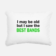 I may be old Rectangular Canvas Pillow