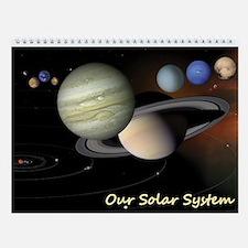 Solar System (pluto) Wall Calendar