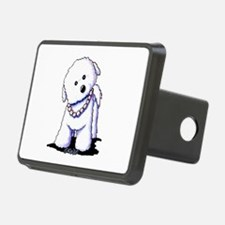 KiniArt Bichon In Pearls Hitch Cover