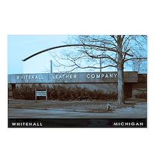 Whitehall,Michigan Winter 4x6 postcard