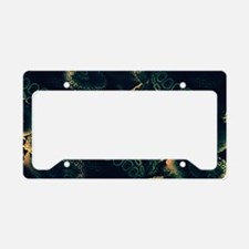 Tentacles License Plate Holder